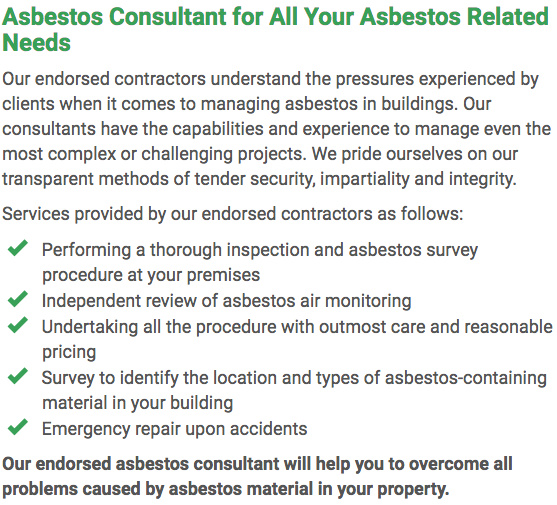 Asbestos Watch Newcastle - consultant right