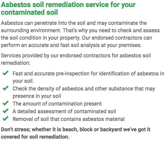 Asbestos Watch Newcastle - soil remediation right